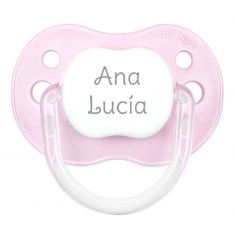 PTL Pink personalized New Classic pacifier
