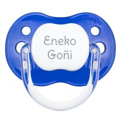 PTL Dark Blue personalized New Classic pacifier