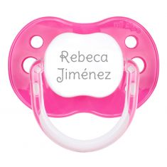 PTL Fuchsia personalized New Classic pacifier