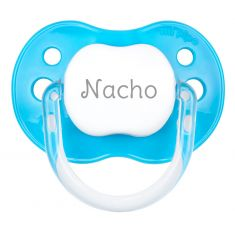 PTL Intense Blue personalized New Classic pacifier