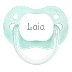PTL Mint personalized New Classic pacifier