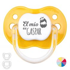 Baby Pacifier Christmas, Mine is Gaspar White