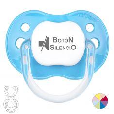 Silence Button Pacifier