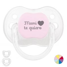 Pacifier I love Mom