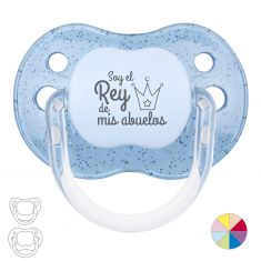 Classic Pacifier Name + Crown