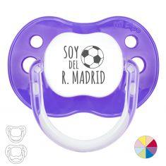 Chupete Divertido Soy del R. Madrid