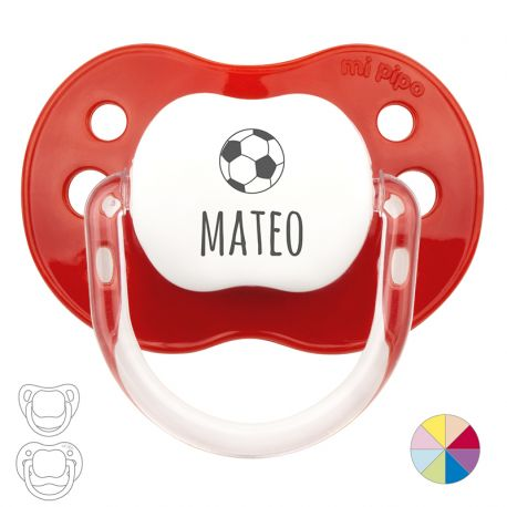 Football Personalized Pacifier
