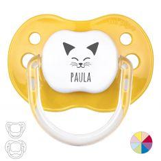 Kitten Personalized Pacifier