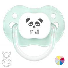 Chupete Personalizado Nombre + Oso Panda