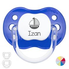Boat Personalized Pacifier