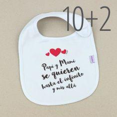 PROMO Baberos Divertidos San Valentín, compra 10 y te regalamos 2