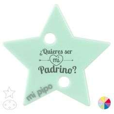 Broche Pinza ¿Quieres ser mi Padrino?