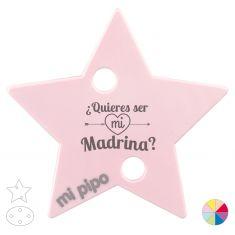 Broche Pinza ¿Quieres ser mi Madrina?
