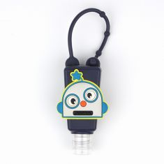 Botellita Gel Marino Robot Personalizada