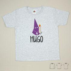 Camiseta o Sudadera Bebé y Niño/a Bebé nombre + Nazareno