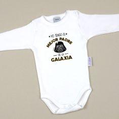 Babidu Body Divertido Yo tengo el mejor Padre de la Galaxia