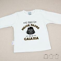 Camiseta o Sudadera Bebé y Niño/a Yo tengo el mejor Padre de la Galaxia