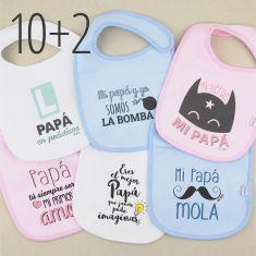 PROMO Babero Especial Día del Padre, compra 10 y te regalamos 2