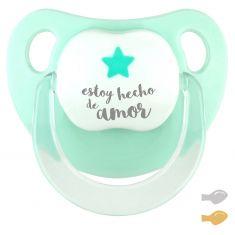 Chupete Baby Deco Estrella Mint Estoy hecho de Amor