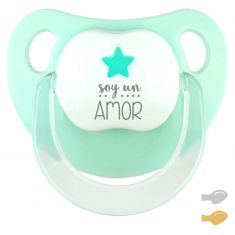 Chupete Baby Deco Estrella Mint Soy un Amor