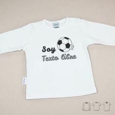 Camiseta o Sudadera Bebé y Niño/a Soy (el nombre de tu equipo)