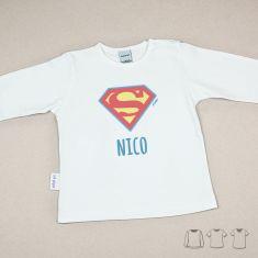 Camiseta o Sudadera Bebé y Niño/a Personalizada Superman