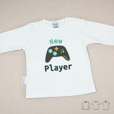 Camiseta o Sudadera Bebé y Niño/a New Player