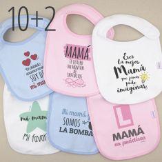 PROMO Babero Especial Día de la Madre, compra 10 y te regalamos 2