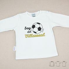 Camiseta o Sudadera Bebé y Niño/a Soy del Villarreal