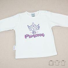 Camiseta o Sudadera Bebé y Niño/a La Princesa Corona