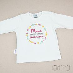 Camiseta o Sudadera Bebé y Niño/a Mamá contigo siempre es Primavera