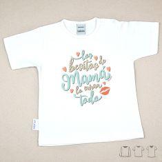 Camiseta o Sudadera Bebé y Niño/a Los besitos de Mamá lo curan todo
