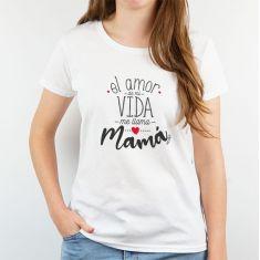 Camiseta o Sudadera Divertida El amor de mi vida me llama Mamá