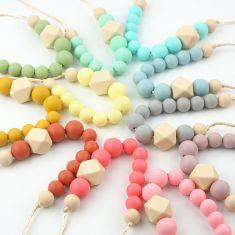 Collar de Lactancia Gema (11 colores a elegir)