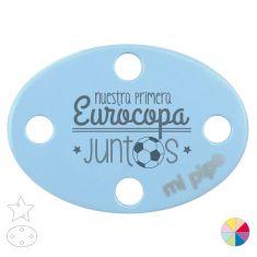 Broche Pinza Nuestra primera Eurocopa juntos
