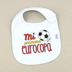Babero Divertido Mi primera Eurocopa