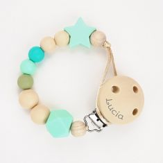 Silicone Chain Dora Mint Not Personalized