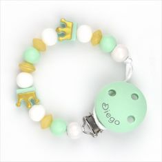NUK Pack 2 Pacifiers Látex Winnie Pooh Green and Red