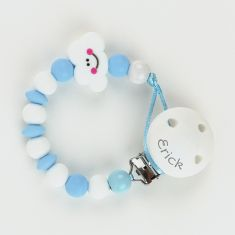 Silicone Chain Blue Pandora Not Personalized