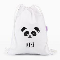 Petate Medium Lona Panda personalizado, color a elegir