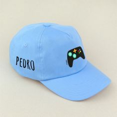 Gorra Junior Consola Azul personalizada