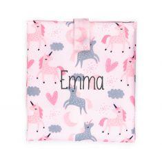 Personalized Pink Panda Thermal Lunch box