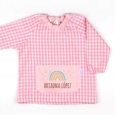 Babi Bolsillo Arcoíris Soft Rosa personalizado