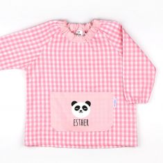 Babi Bolsillo Panda Rosa personalizado