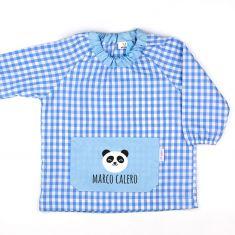 Babi Bolsillo Panda Azul personalizado