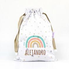 Personalized Grey Panda bag