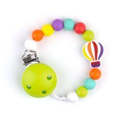 Cadenita Silicona Globo Multicolor