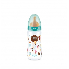 NUK Biberón Latex Cupcakes 2L 300ml +6M