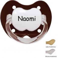 Mi Pipo Chupete Personalizado Chocolate
