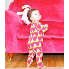 Pijama Beauty & The Bib Fresas Multicolor